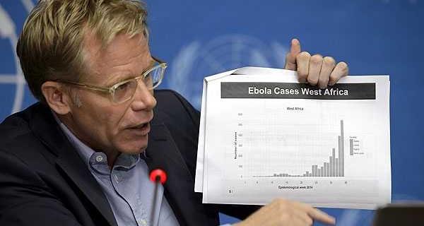 OMS estima que cifra de contagiados con ébola puede llegar a los 20.000